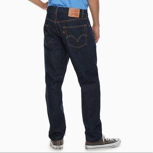 Levi's 505 Regular Fit Men's Dark Wash Jeans